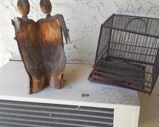 Decorative Metal Figures, Metal Bird Cage