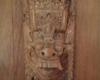 Really wonderfully carved mask