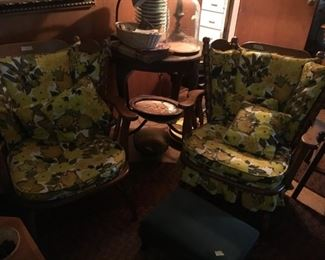 Chair and platform rocker