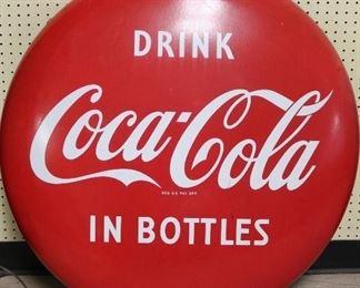 3' Vintage Coca-Cola Button