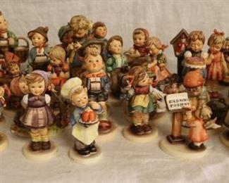 Hummel figurine collection