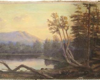 Vintage painting