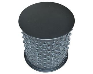 3. BALLARD DESIGN Bornova Ebonized Side Table
