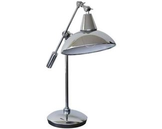 11. Chrome Reading Lamp