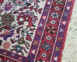 Persian rug  runner ( we have the original paperwork for this rug)