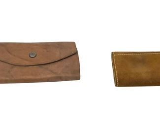 6. 2 Leather Wallets