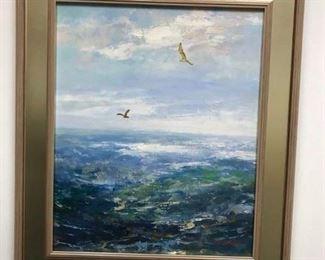 Jason, (S.Korean Academy painter), oil on canvas, 28 x 24 in. framed