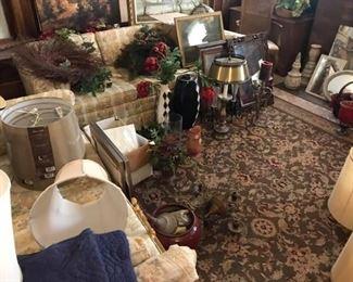 area rug vases sofa loveseat