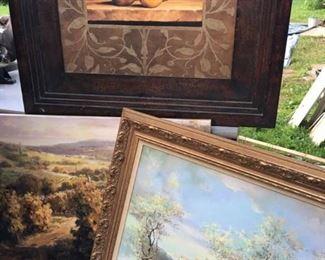 wall art paintings prints