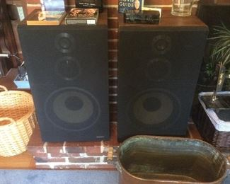 Large fisher speakers