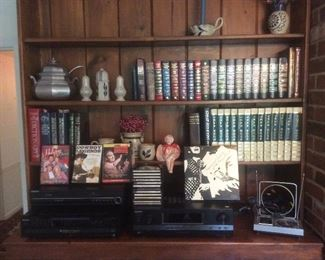 Books and cds