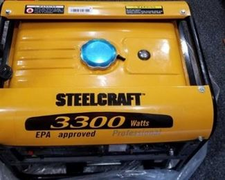 Steelcraft 3300 Watt Professional Generator
