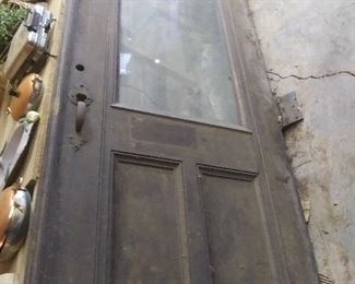 Original Door from Ford Building at Berry