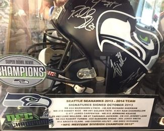 signed by all the Seahawks -