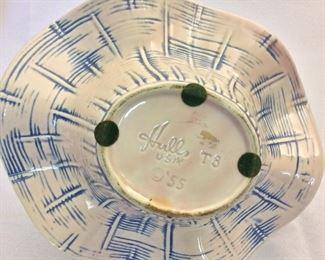 "Vintage Hull Pottery, 6 1/2""."