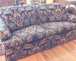 Upholstered Sofa.