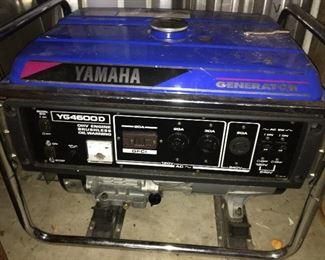 Yamaha YG4600D Generator.