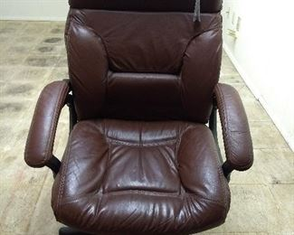 Leather Office Chair- $25
