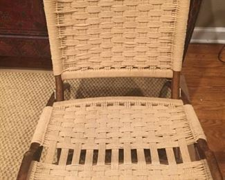 Mid C Modern Rope low chair