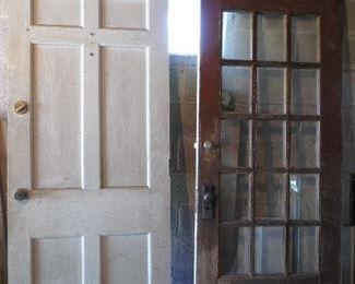 Old farmhouse doors