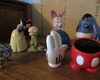 Disney salt and pepper shakers