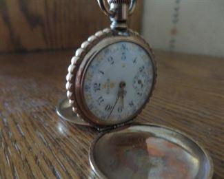 Early 1900's Elgin pocket watch with Keystone case.