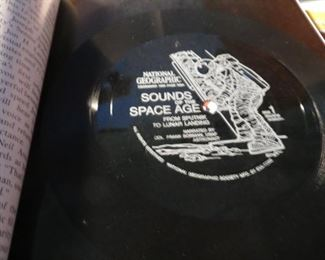 """December 1969 issue includes attached special recording """"Sounds of the Space Age""""."""