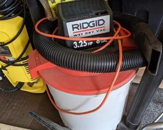 Rigid wet/dry vacuum $45