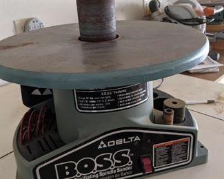 Delta bench oscillating spindle sander $200