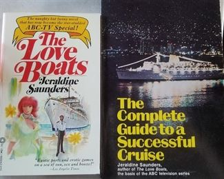 A couple of the nine books Jeraldine has written. We have copies of many of her books for sale as well.