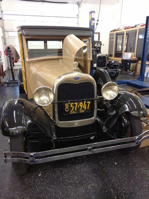 1929 Model A Woody Show Car