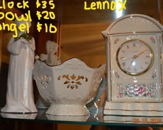 lots of beautiful Lennox collectibles