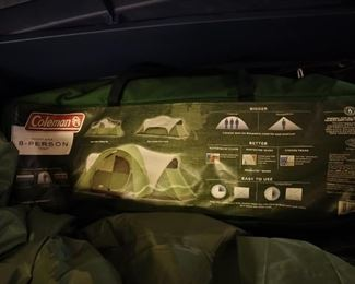 8 man tent, looks like it was never used.