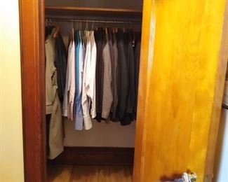 All XL. Lots of gently worn suits.