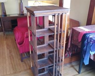 Arts and Crafts bookcase.