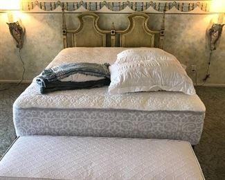 Queen size matress and headboard