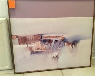"Original:  Artist Bill Billingsley, Cantonment  28"" x 23"""