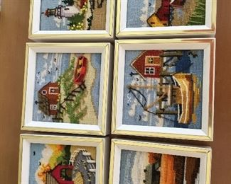 Needlepoint pictures