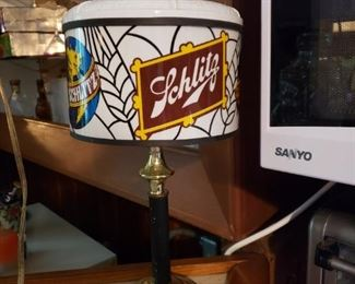 Schlitz Beer Bar Lamp