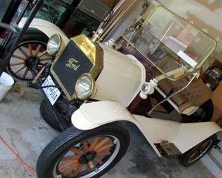 1914 restored Ford Model T