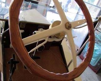 Model T wooden steering wheel