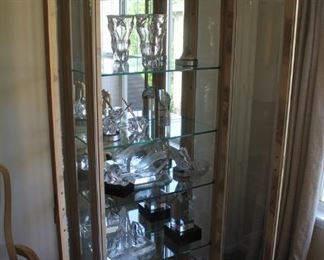 Walter E. Smithe display cabinet