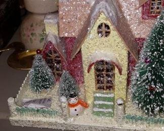 Contemporary Christmas House