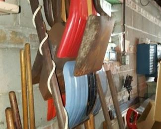 Shovel and other Yard Tools