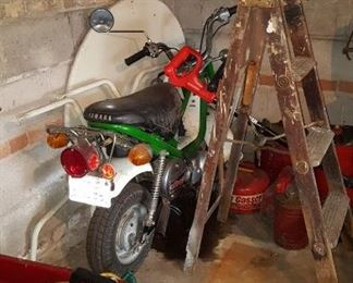Scooter/small motor cycle