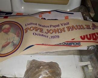 Pope John Paul Banner