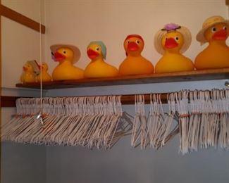 Rubber Duckies & Hangers