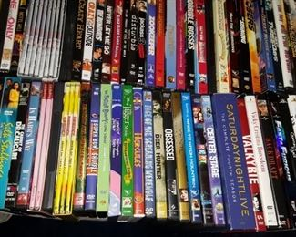 DVD's mostly new