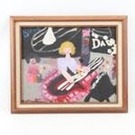 Acrylic Painting of Children Playing Musical Instruments