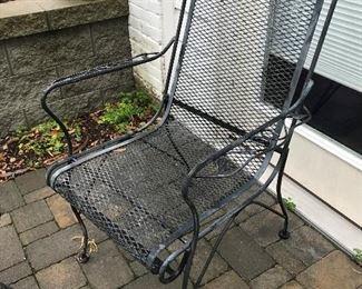Metal Arm Chair $ 48.00